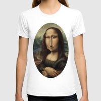 mona lisa T-shirts featuring Mona Lisa by Alexander Novoseltsev