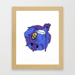 Nostalgi Ball Masters Bad Guy Framed Art Print