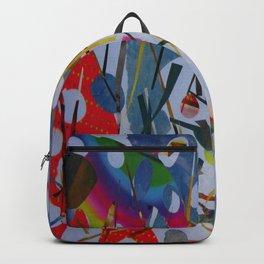Abstract - Hawaiian Botanical Garden 1 Backpack
