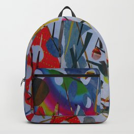 Abstract - Hawaiian Botanical Garden 1 Backpack