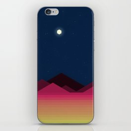 Desert Night (Voxel) iPhone Skin