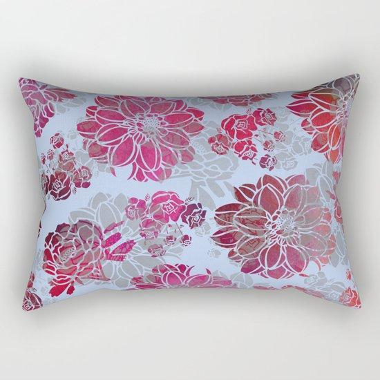 Flower Pattern Design Rectangular Pillow