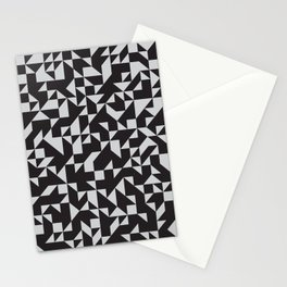 Girard Inspired Geometric Pattern Stationery Cards