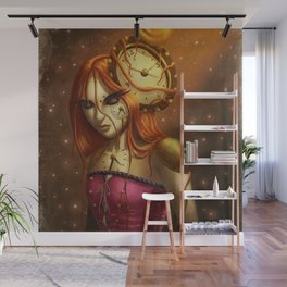 """""""Time After Time..."""" Wall Mural"""