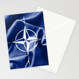 NATO Flag Stationery Cards