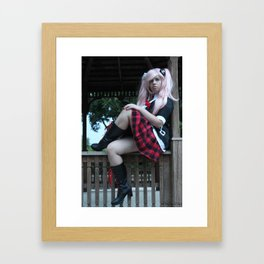 Watch the despair Framed Art Print