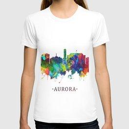 Aurora Colorado Skyline T-shirt