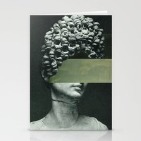 rothko Stationery Cards featuring Frau Rothko 2 by Marko Köppe