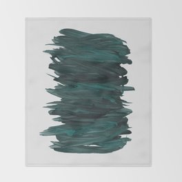 Abstract Minimalism #3 #minimal #ink #decor #art #society6 Throw Blanket