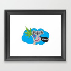 Cheers mates Framed Art Print