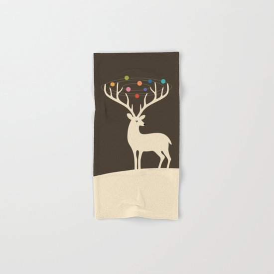 My Deer Universe Hand & Bath Towel