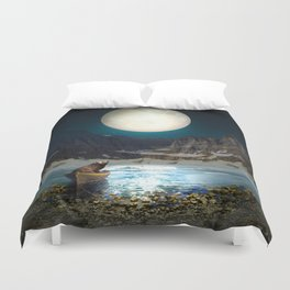 Somewhere You Are Looking At It Too II Duvet Cover