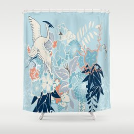 Gru Bird Shower Curtain