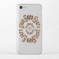 Dum spiro spero Clear iPhone Case