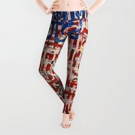 Flag Circels Leggings