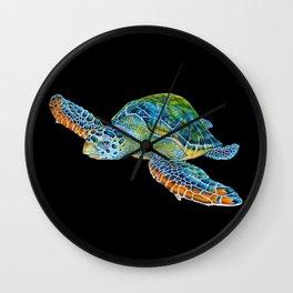 Sea Turtle 4 Wall Clock