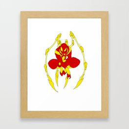 The Iron Spider Framed Art Print