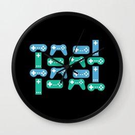 Gaming Control Tools Wall Clock