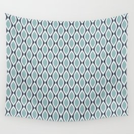 Blue pattern Wall Tapestry