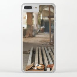 69. Sleeping Cuban cat, Cuba Clear iPhone Case