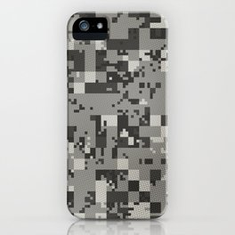 Digital Camo Urban iPhone Case