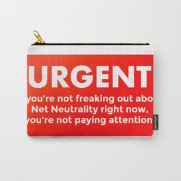Net Neutrality - save the internet Carry-All Pouch