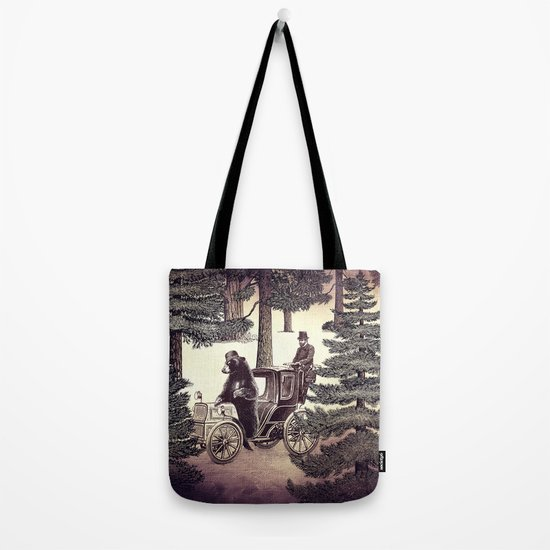 Two Gentlemen in the Forest Tote Bag