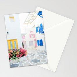 Santorini #decor #buyart #society6 Stationery Cards