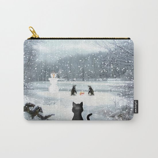 Cat on tour Carry-All Pouch