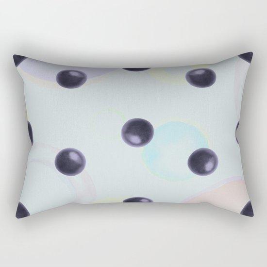 Plums Pattern Rectangular Pillow