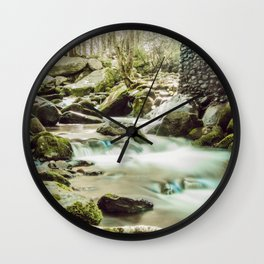 Streams of Tennessee Wall Clock