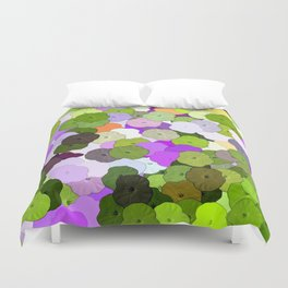 Art Flower Flowers Fabric Fabrics Duvet Cover