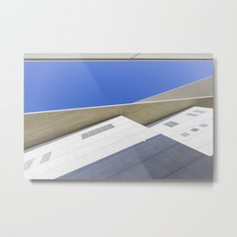 architectural detail of modern building Metal Print