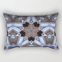 Building A Star Rectangular Pillow