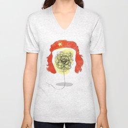 Doodle Revolution! Unisex V-Neck