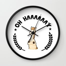 Funny Horse Horse Lover Racing Riding Gifts Wall Clock