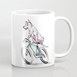 Mookie Rides the Pelotonia Coffee Mug