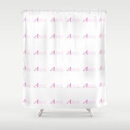 Amen 1 Shower Curtain