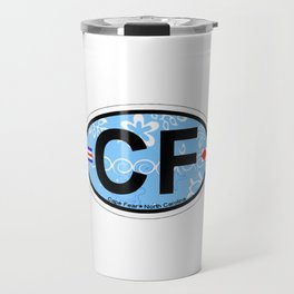Cape Fear - North Carolina. Travel Mug