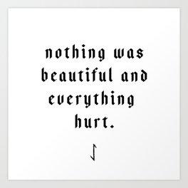 The Pessimist Art Print