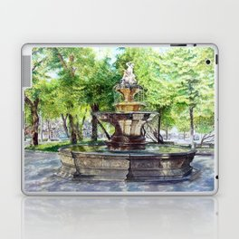 Old Fountain at Split, Croatia Laptop & iPad Skin