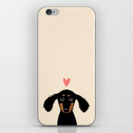 Dachshund Love iPhone Skin