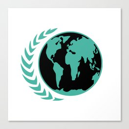 United Earth Government Canvas Print