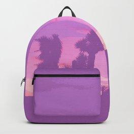 Lavender Joshua Sunset - Pop_Art Backpack