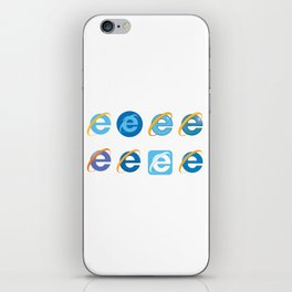 The Age Of The Internet iPhone Skin