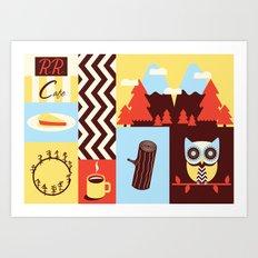 Twin Peaks Baby! Art Print
