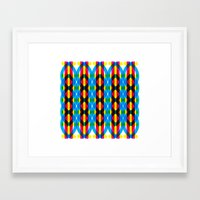 dna Framed Art Prints featuring DNA by dzynwrld