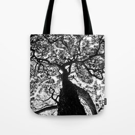 Hawaiian Tree  Tote Bag
