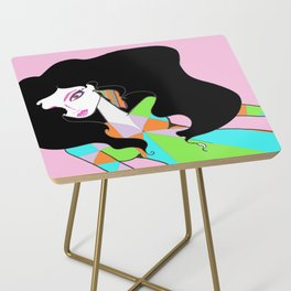 70's Fashion Side Table