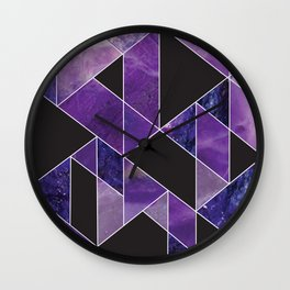 Sugilite Wall Clock